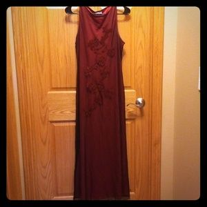 Dresses & Skirts - Maroon Dress!